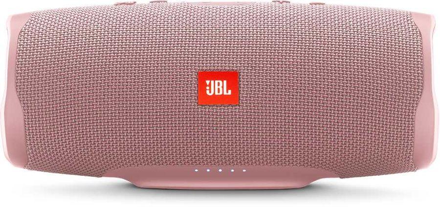 Портативная колонка JBL Charge 4 + наушники JBLT110BTBLU,  30Вт, розовый