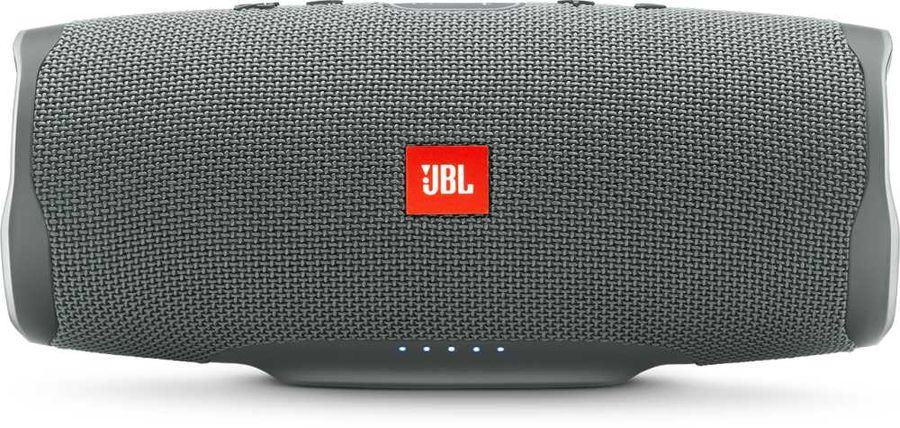 Портативная колонка JBL Charge 4 + наушники JBLT110BTBLU,  30Вт, серый