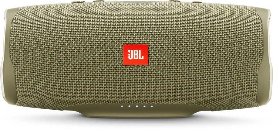 Портативная колонка JBL Charge 4 + наушники JBLT110BTBLU,  30Вт, золотистый