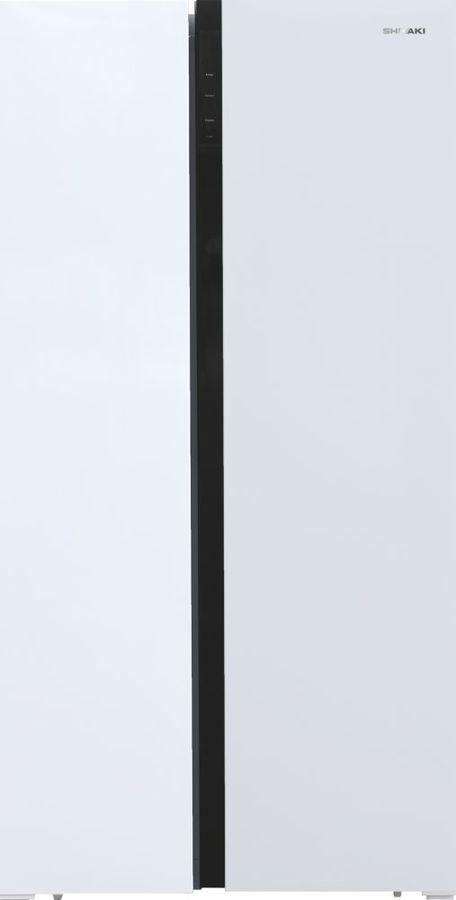Холодильник SHIVAKI SBS-504DNFW,  двухкамерный, белый
