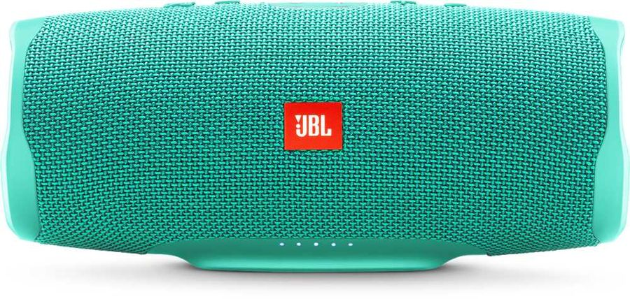 Портативная колонка JBL Charge 4 + наушники JBLT110BTBLU,  30Вт, бирюзовый