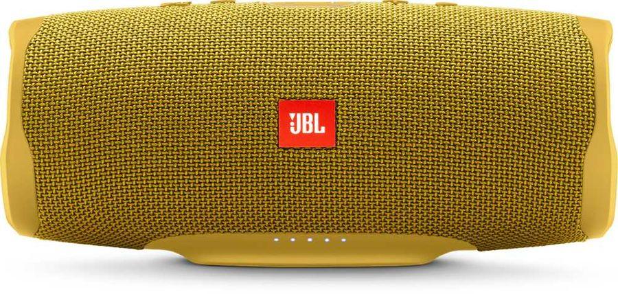 Портативная колонка JBL Charge 4 + наушники JBLT110BTBLU,  30Вт, желтый