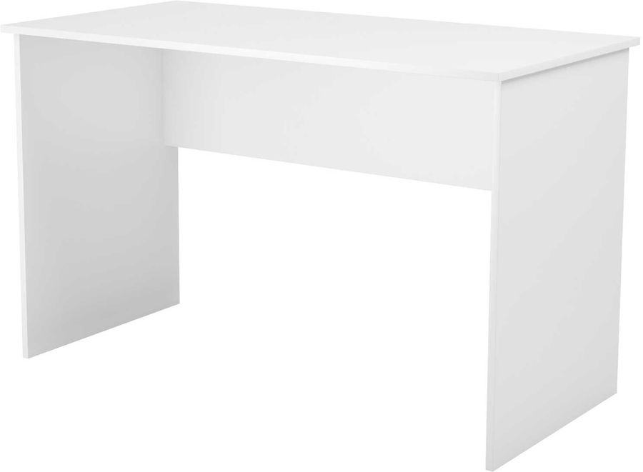 Стол компьютерный ВИТАЛ-ПК Компакт 1200, ЛДСП, белый