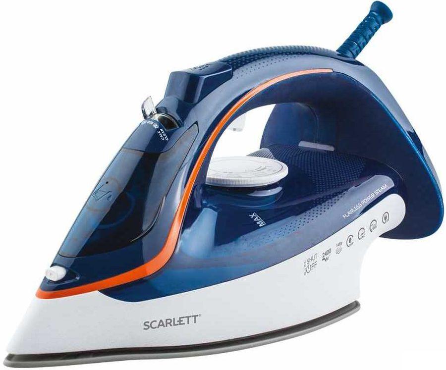 Утюг SCARLETT SC-SI30K35,  2400Вт,  синий