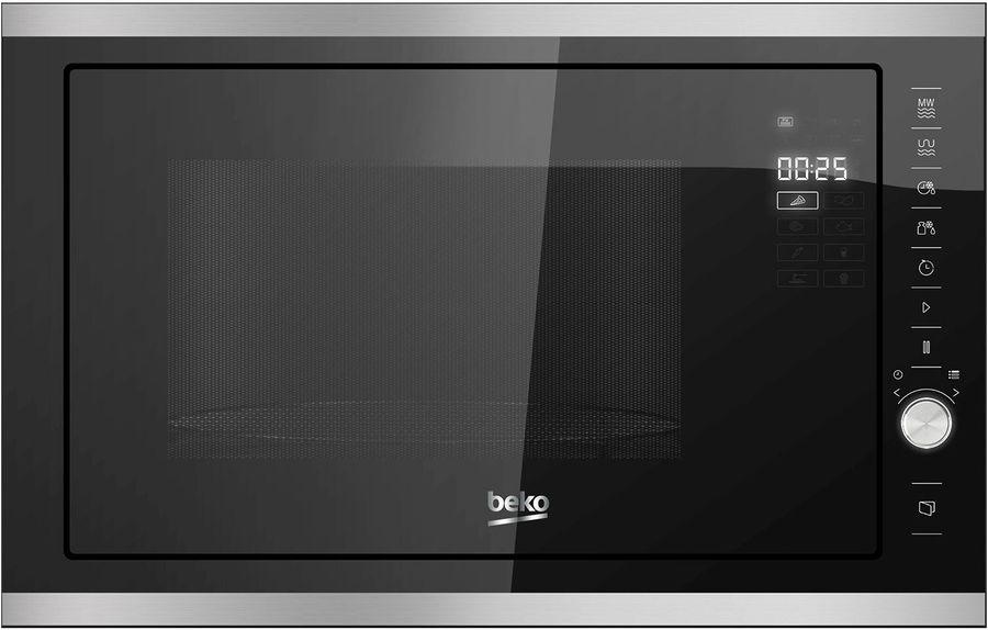 Микроволновая Печь Beko MCB25433X 25л. 900Вт нержавеющая сталь/черный (встраиваемая)