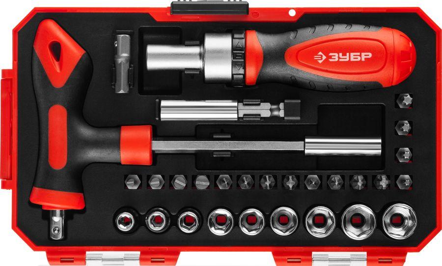 Набор инструментов ЗУБР 25168-H29,  29 предметов