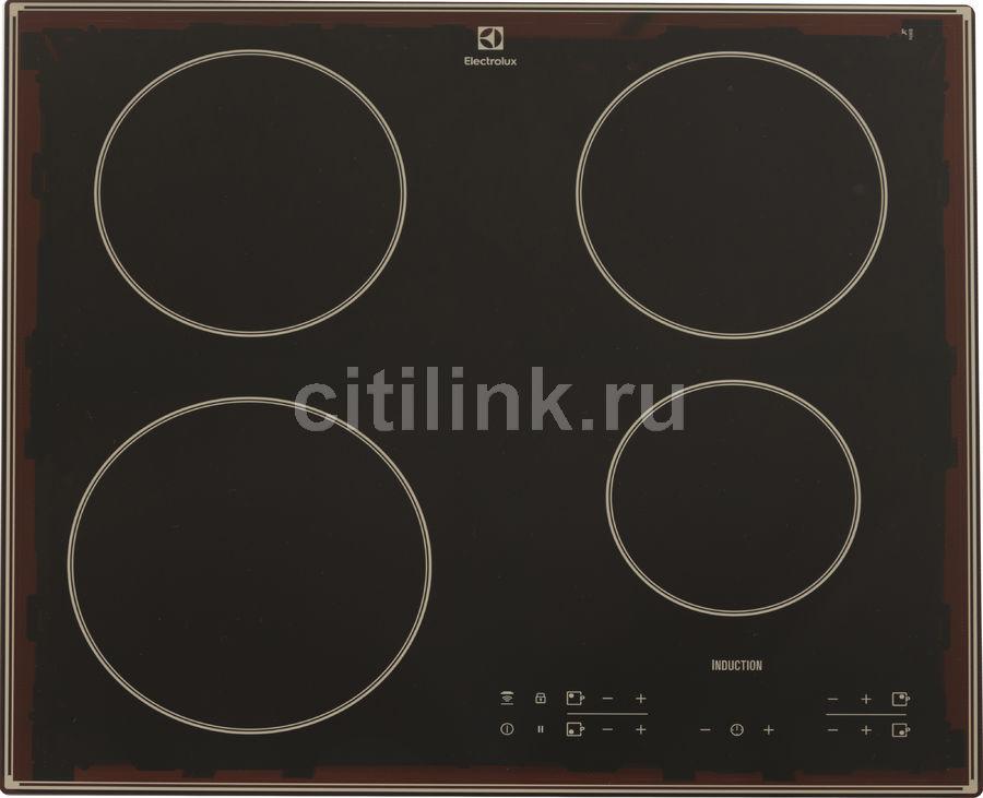 Индукционная варочная панель ELECTROLUX IPEV644RBC,  индукционная,  независимая,  черный