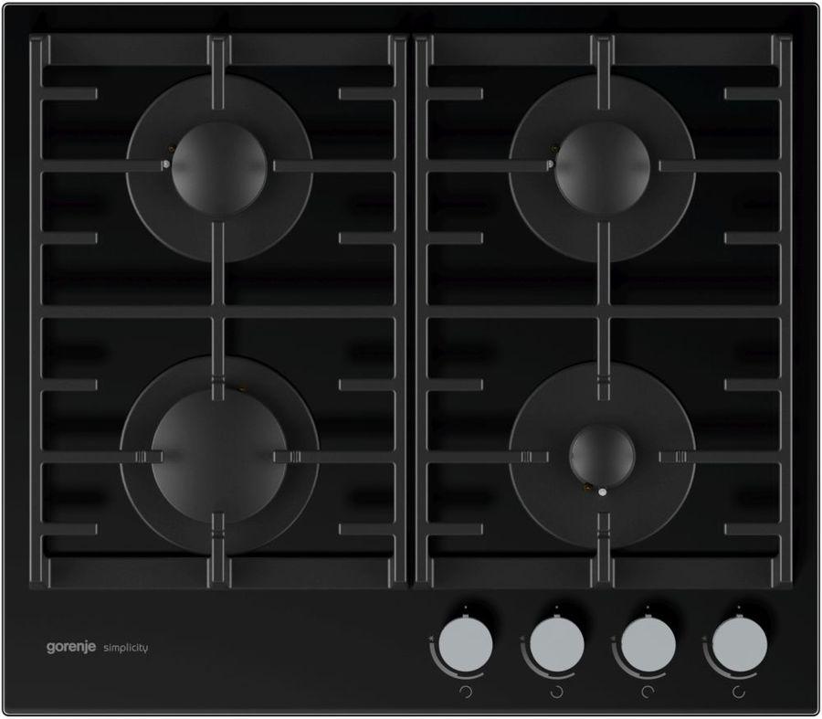 Варочная панель GORENJE Simplicity GT641SY2B,  независимая,  черный