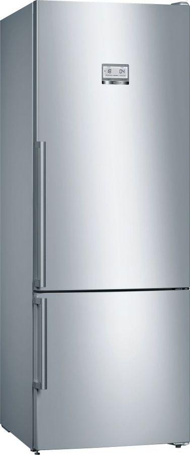 Холодильник BOSCH KGN56HI20R,  двухкамерный, нержавеющая сталь