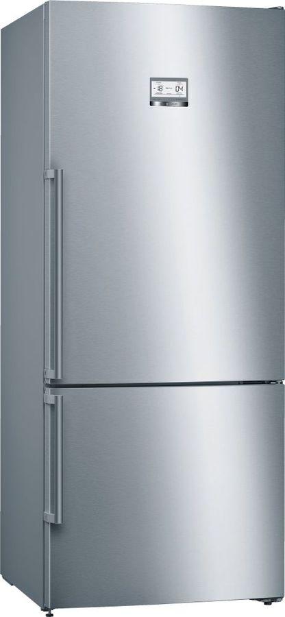 Холодильник BOSCH KGN76AI22R,  двухкамерный, нержавеющая сталь
