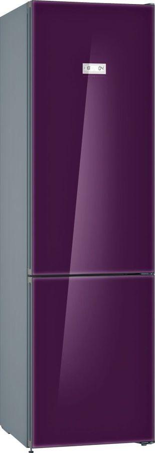 Холодильник BOSCH KGN39LA31R,  двухкамерный, фиолетовый