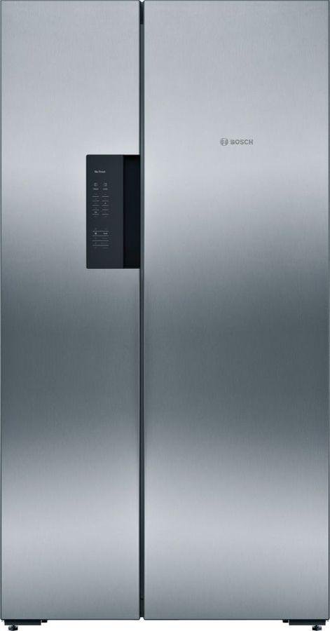 Холодильник BOSCH KAN92VI25R,  двухкамерный, нержавеющая сталь