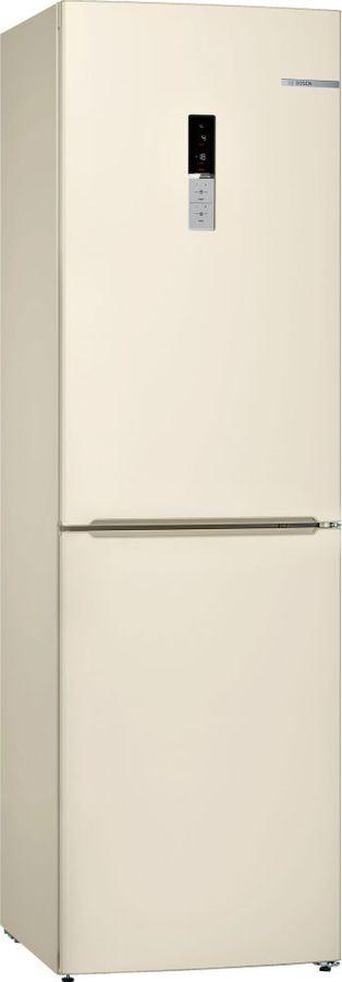Холодильник BOSCH KGN39VK16R,  двухкамерный, бежевый