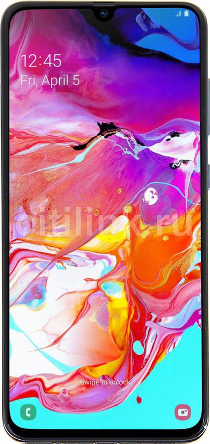Смартфон SAMSUNG Galaxy A70 128Gb,  SM-A705F,  черный