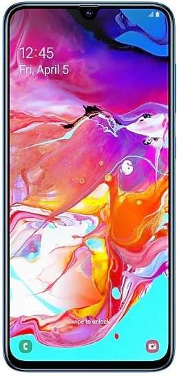Смартфон SAMSUNG Galaxy A70 128Gb,  SM-A705F,  синий