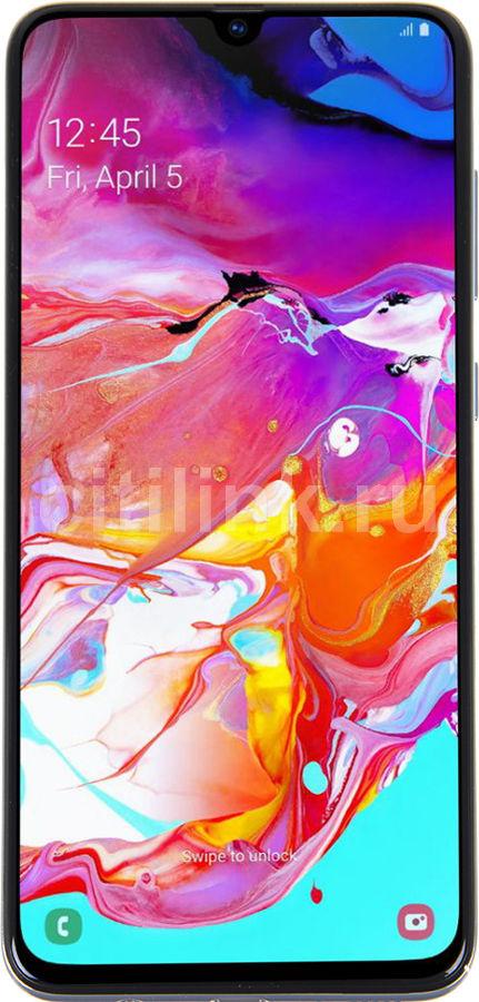 Смартфон SAMSUNG Galaxy A70 128Gb,  SM-A705F,  белый