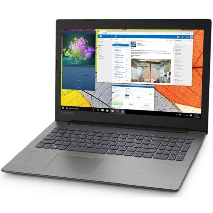 """Ноутбук LENOVO IdeaPad 330-15IKB, 15.6"""",  Intel  Core i3  7020U 2.3ГГц, 4Гб, 256Гб SSD,  Intel HD Graphics  620, Windows 10, 81DC0185RU,  черный"""