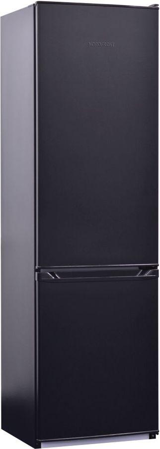 Холодильник NORDFROST NRB 120 232,  двухкамерный, черный [00000256567]
