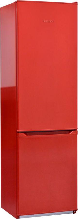 Холодильник NORDFROST NRB 120 832,  двухкамерный, красный [00000256570]