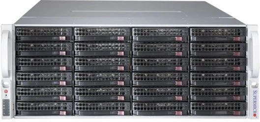 Корпус SuperMicro CSE-847BE1C4-R1K23LPB 2x1200W черный