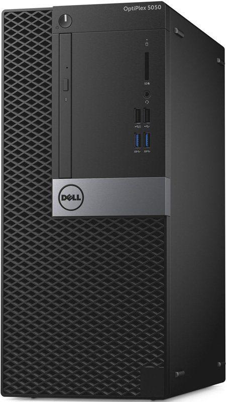 Компьютер  DELL Optiplex 5050,  Intel  Core i5  6400,  DDR4 4Гб, 500Гб,  Intel HD Graphics 530,  DVD-RW,  Windows 10 Professional,  черный и серебристый [5050-1109]