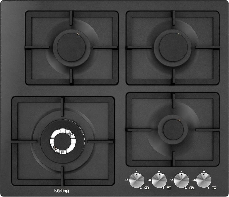 Варочная панель KORTING HG697CTN,  независимая,  черный