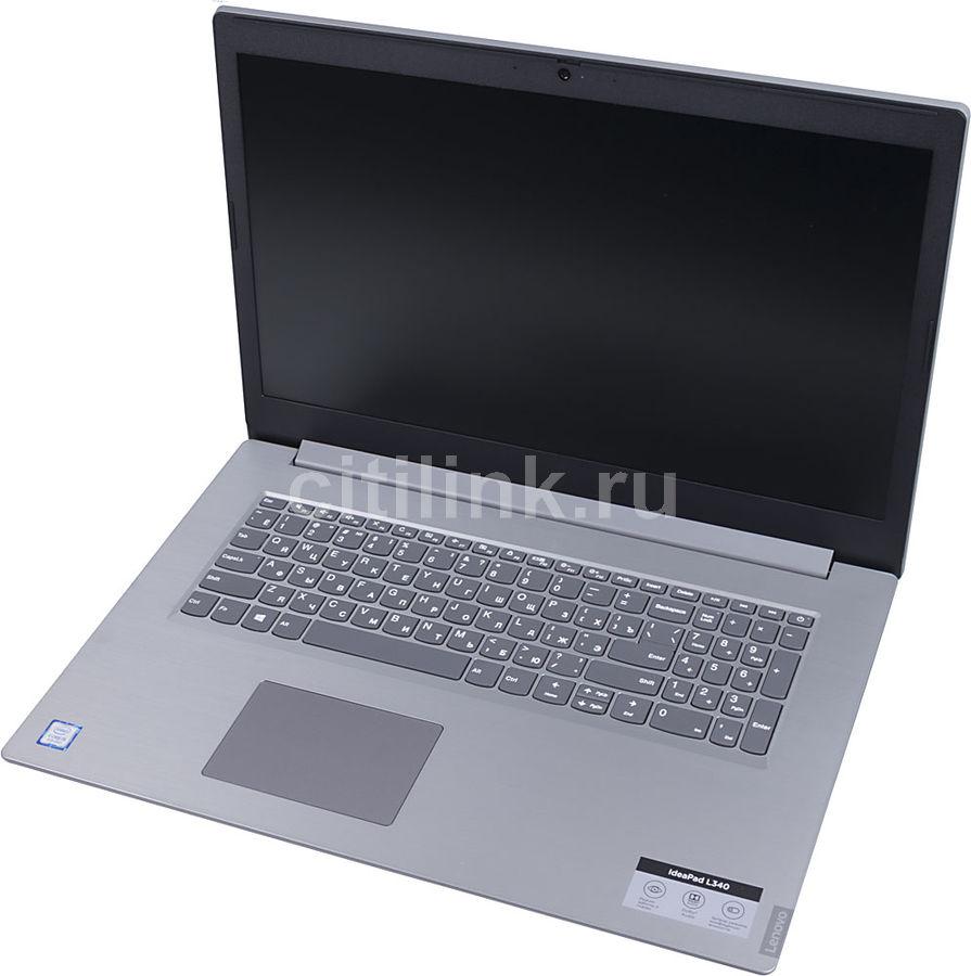 "Ноутбук LENOVO IdeaPad L340-17IWL, 17.3"",  Intel  Core i5  8265U 1.6ГГц, 8Гб, 1000Гб,  128Гб SSD,  Intel UHD Graphics  620, Windows 10, 81M00041RU,  серый"