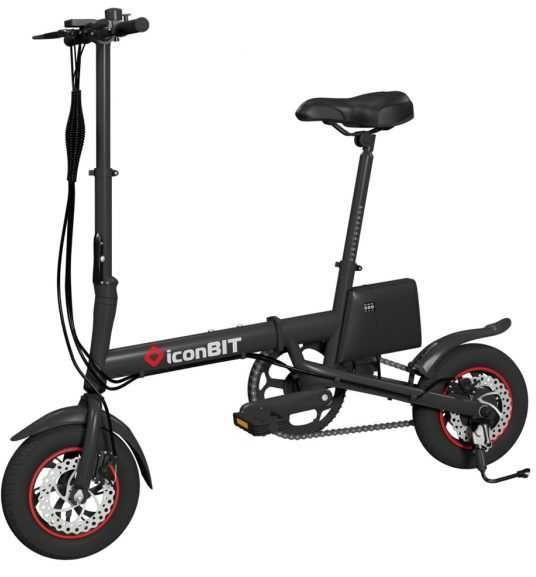 Электробайк ICONBIT E-Bike K7,  6000mAh [se-1260k]