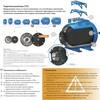 Гидроаккумулятор Джилекс 50 Г 50л 8бар синий (7050) вид 5