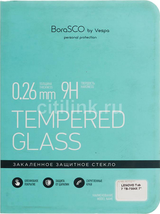 """Защитное стекло  Borasco  для Lenovo Tab 7 TB-7504X,  7"""", 92 х 186 мм, 1 шт [36662]"""