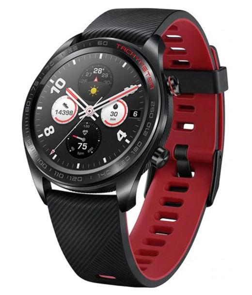 """Смарт-часы HONOR Watch Magic Talos-B19V,  1.2"""",  черный / черный/красный [55023403]"""