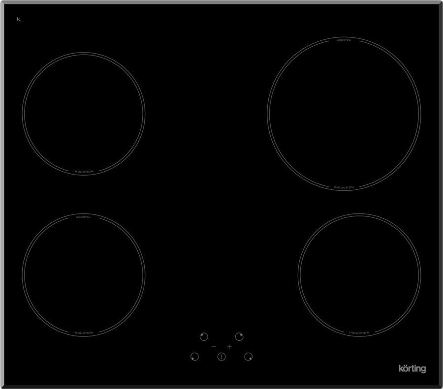 Варочная панель KORTING HI64021B,  индукционная,  независимая,  черный