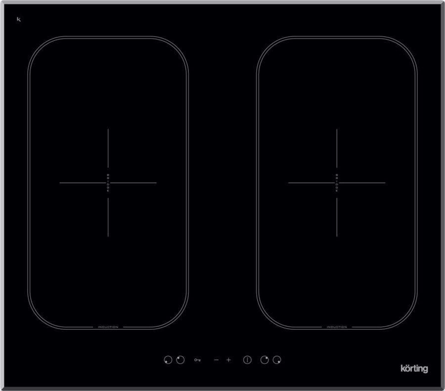 Варочная панель KORTING HIB6409B,  индукционная,  независимая,  черный