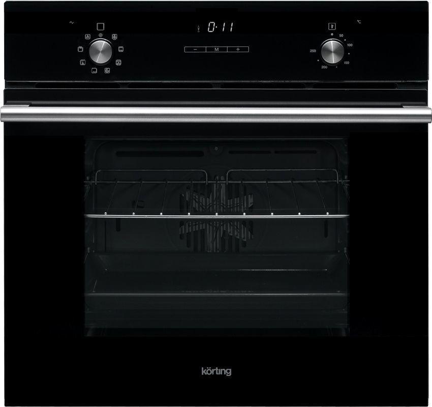 Духовой шкаф KORTING OKB792CFN,  стекло черное