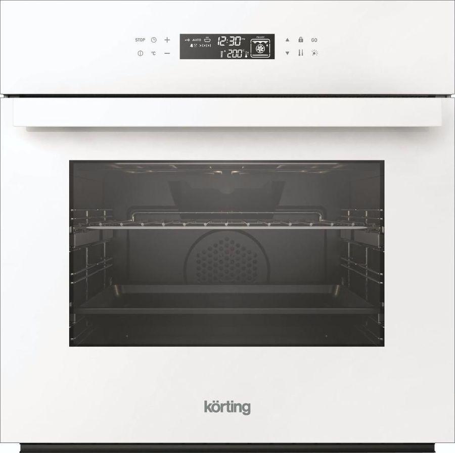 Духовой шкаф KORTING OKB9102CSGWPRO,  стекло белое