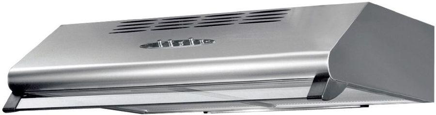 Вытяжка козырьковая Korting KHT6230X нержавеющая сталь управление: кнопочное (1 мотор)