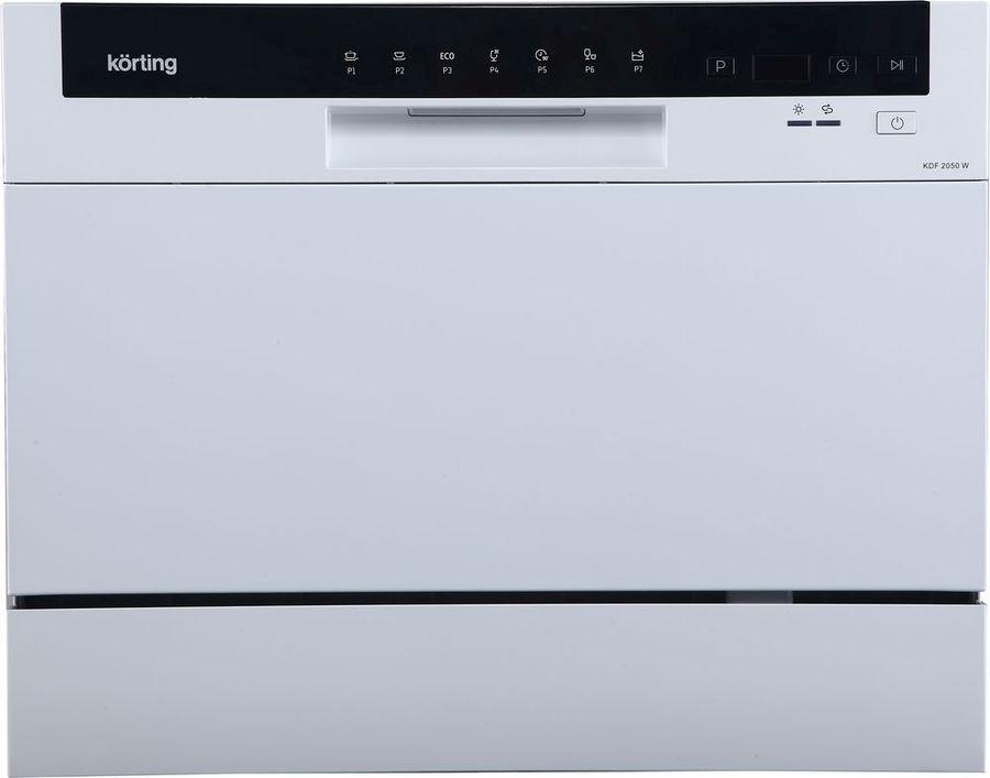 Посудомоечная машина KORTING KDF2050W,  компактная, белая [1370]
