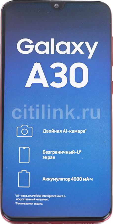 Смартфон SAMSUNG Galaxy A30 64Gb,  SM-A305F,  красный