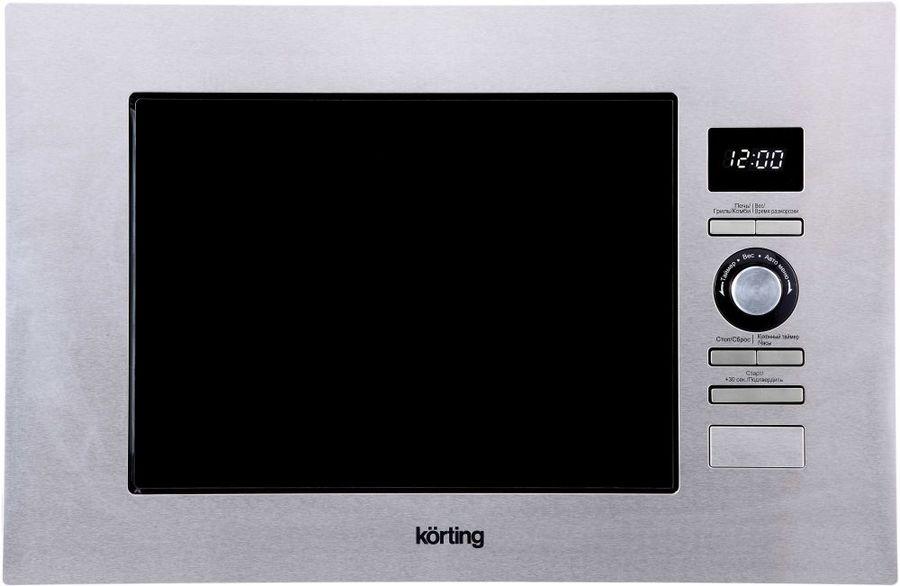 Микроволновая Печь Korting KMI720X 20л. 800Вт черный (встраиваемая)