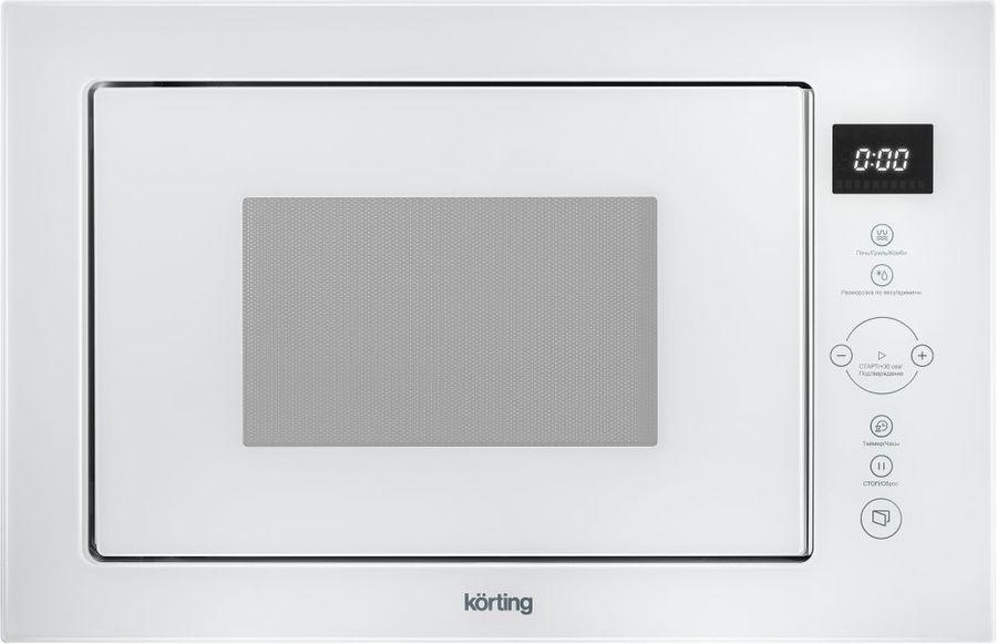 Микроволновая Печь Korting KMI825TGW 25л. 900Вт белый (встраиваемая)