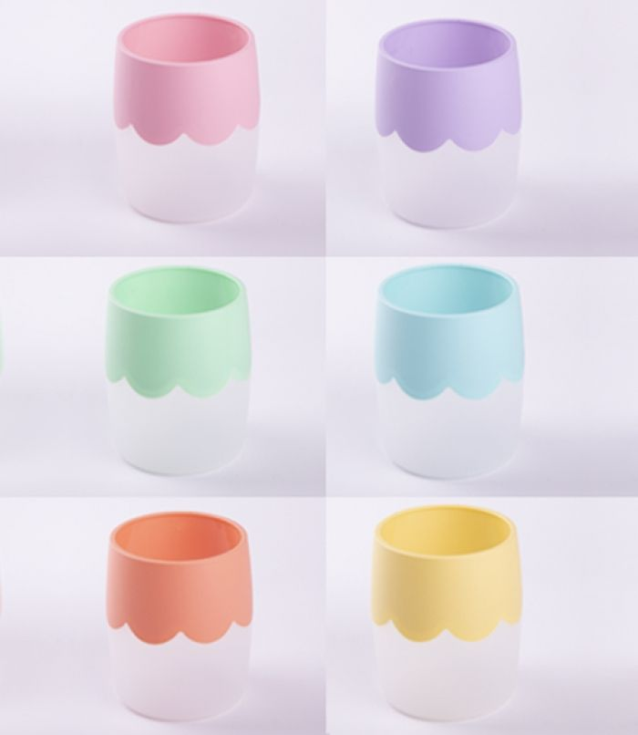 """Анонс-изображение товара подставка-стакан для косметики стамм """"wave""""  pastel ассорти сн252"""