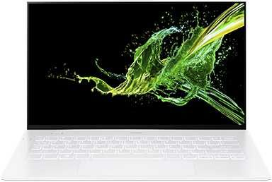 "Ультрабук ACER Swift 7 SF714-52T-76X9, 14"",  IPS, Intel  Core i7  8500Y 1.5ГГц, 16Гб, 512Гб SSD,  Intel UHD Graphics  615, Windows 10 Professional, NX.HB4ER.003,  белый"