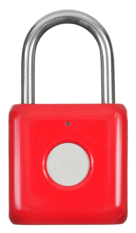 Умный замок DIGMA SmartLock P1, навесной, красный