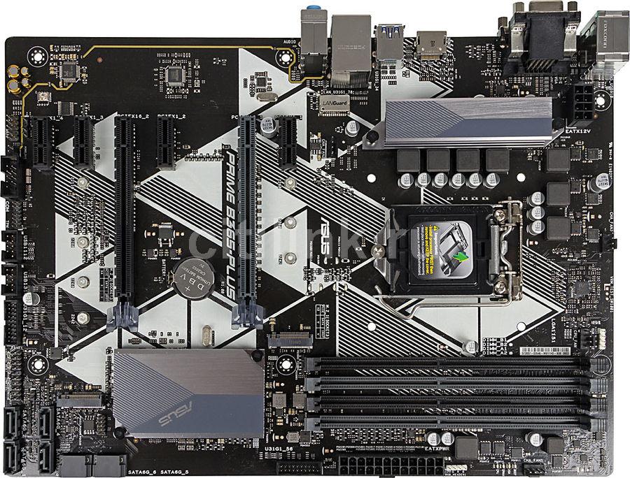 Материнская плата ASUS PRIME B365-PLUS, LGA 1151v2, Intel B365, ATX, Ret