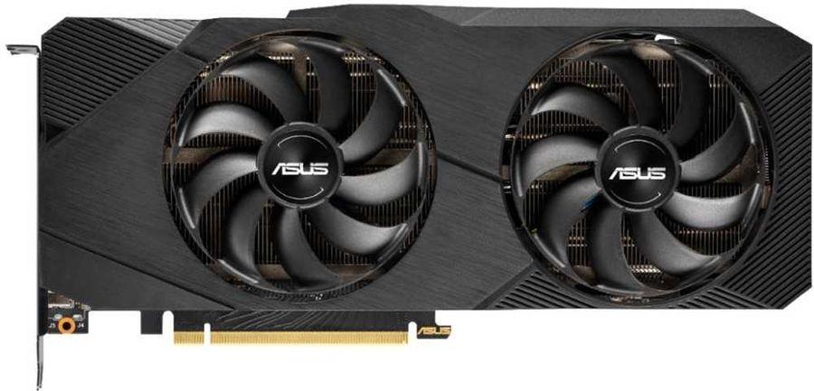 Видеокарта ASUS nVidia  GeForce RTX 2080 ,  DUAL-RTX2080-8G-EVO,  8Гб, GDDR6, Ret