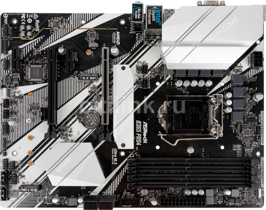 Материнская плата ASROCK B365 PRO4, LGA 1151v2, Intel B365, ATX, Ret
