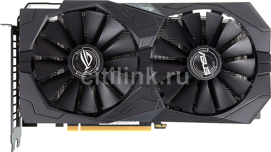 Видеокарта ASUS nVidia  GeForce GTX 1650 ,  ROG-STRIX-GTX1650-A4G-GAMING,  4Гб, GDDR5, Ret