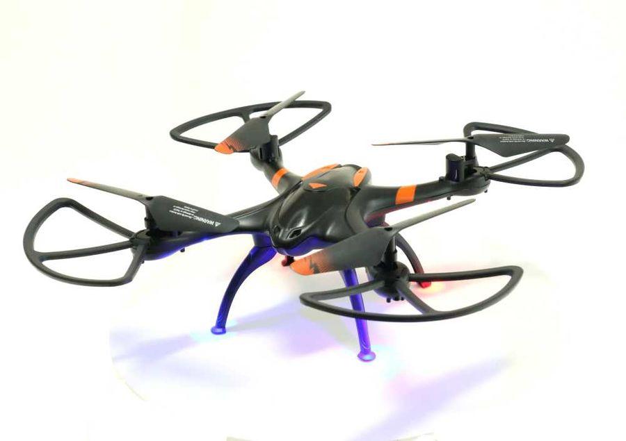 Квадрокоптер AOSENMA X-Drone с камерой,  черный [aos-v5]