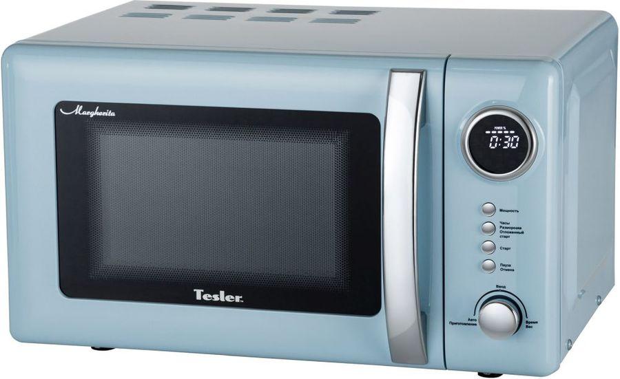 Микроволновая Печь Tesler ME-2055 20л. 700Вт голубой