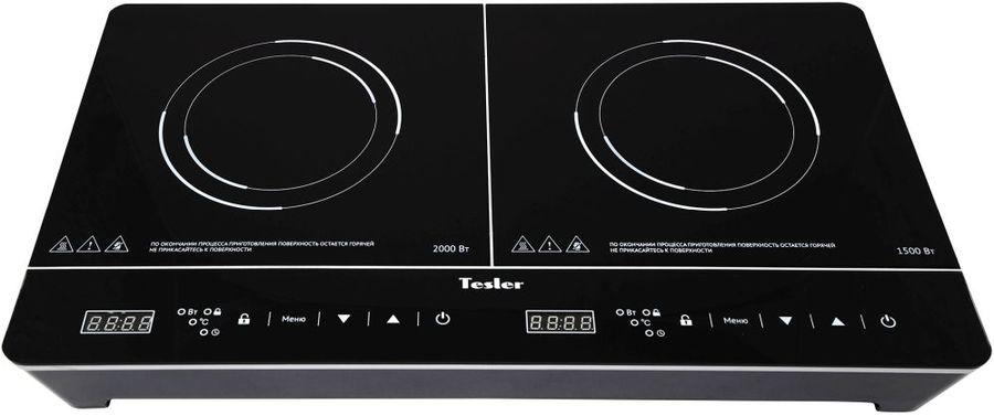 Плита Электрическая Tesler PI-23 черный стеклокерамика (настольная)